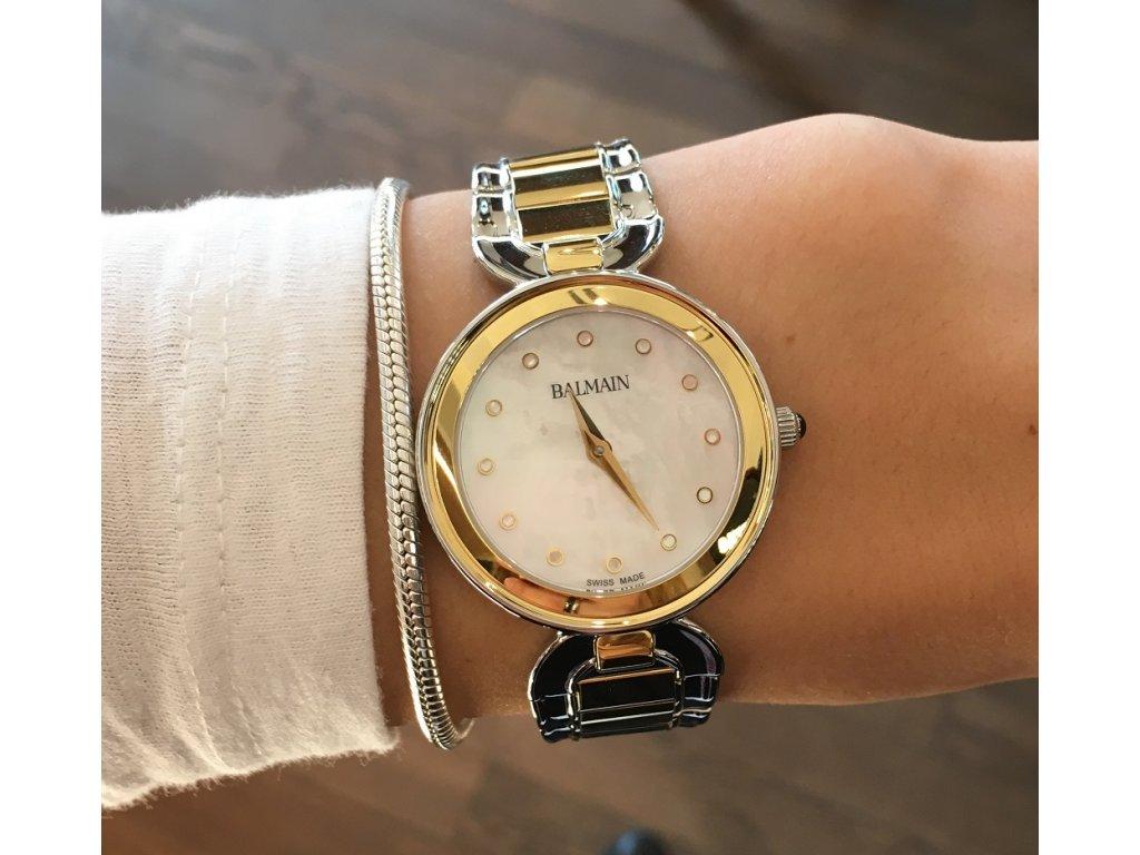 b7cac64a3 Balmain Madrigal Lady II B4892.39.86 + prodloužená záruka 5 let + 5 let na  výměnu baterie zdarma. Dámské quartzové hodinky ...