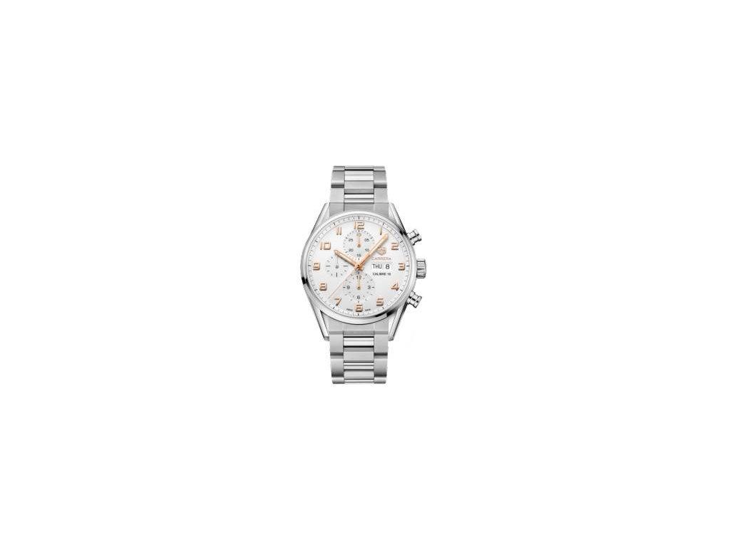 TAG Heuer Carrera CV2A1AC.BA0738  + prodloužená záruka 5 let+ možnost výměny do 90 dní + pojištení na rok + natahovač na hodinky ZDARMA