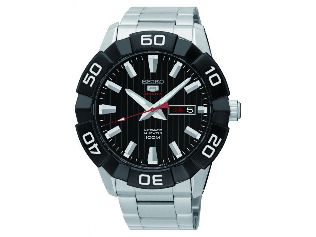 Velké pánské hodinky Seiko (45 a více) - HELVETIA hodinky šperky 2b5ce6be0a