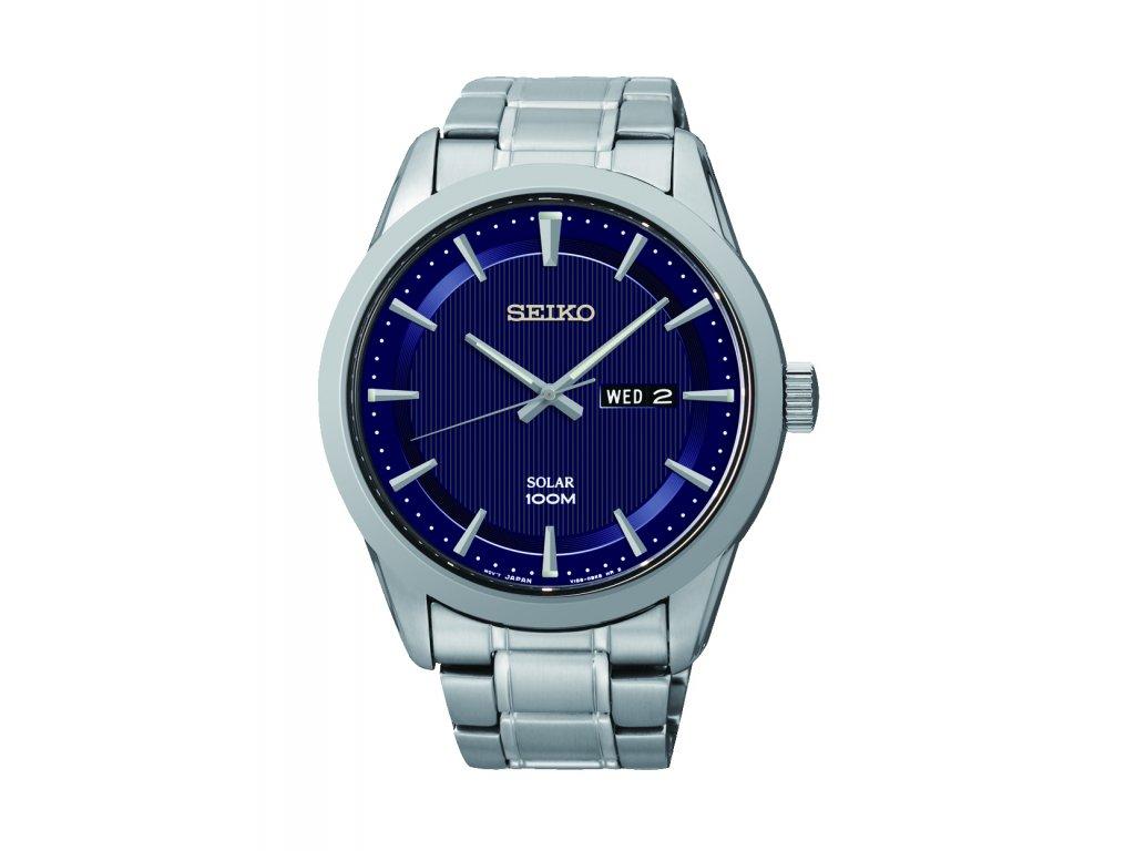Pánské hodinky Seiko Solar - HELVETIA hodinky šperky f38a0e3fb14