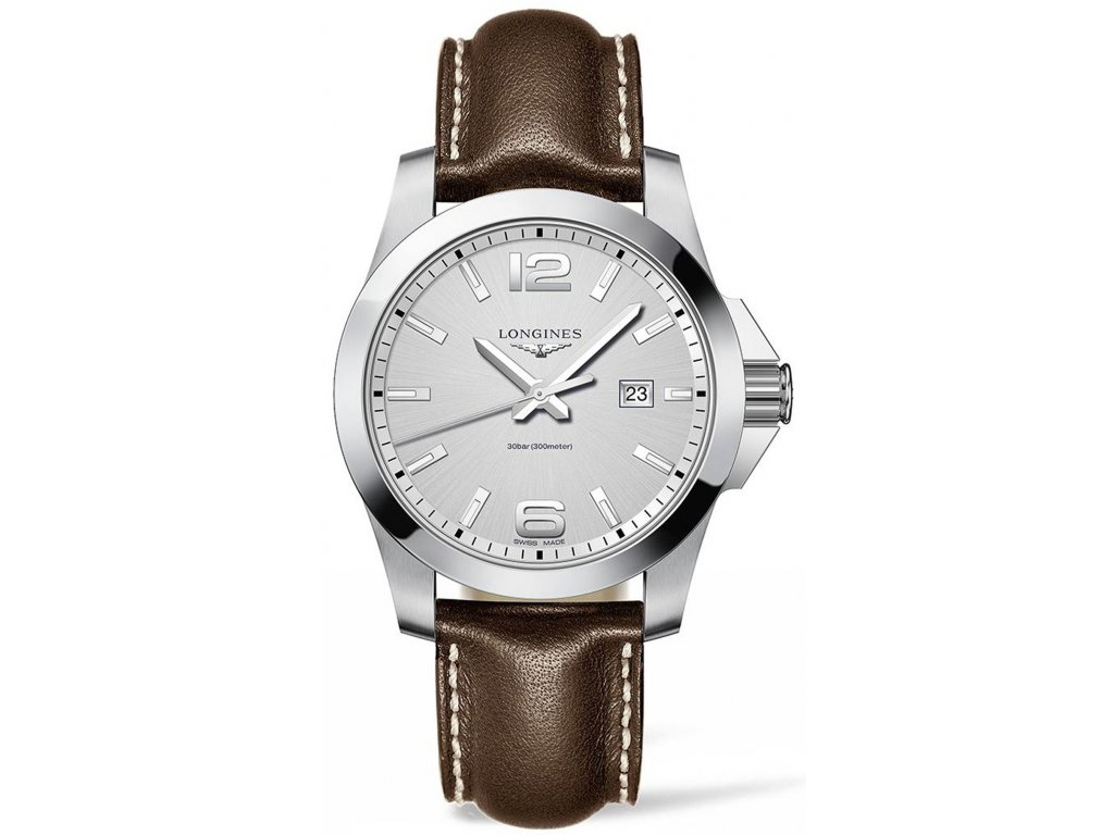 Longines Conquest L3.760.4.76.5 - HELVETIA hodinky šperky 35933649f4