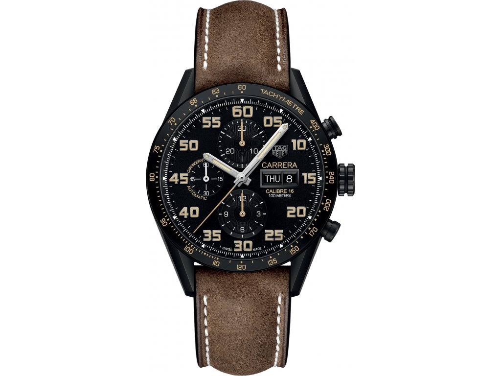 TAG Heuer Carrera CV2A84.FC6394  + natahovač na hodinky