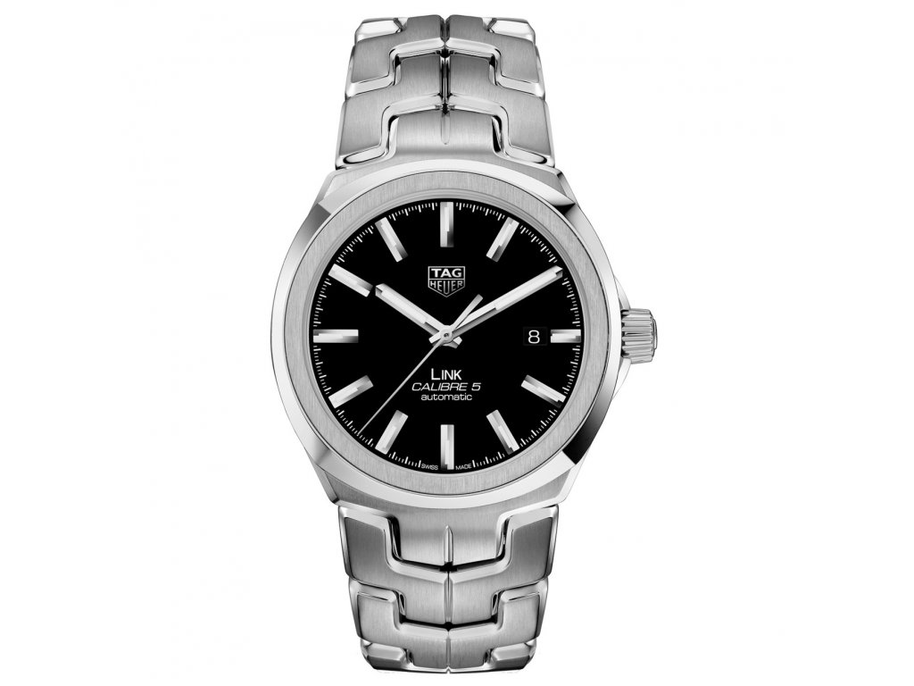 TAG Heuer Link WBC2110.BA0603  + prodloužená záruka 5 let + pojištení na rok + natahovač na hodinky ZDARMA
