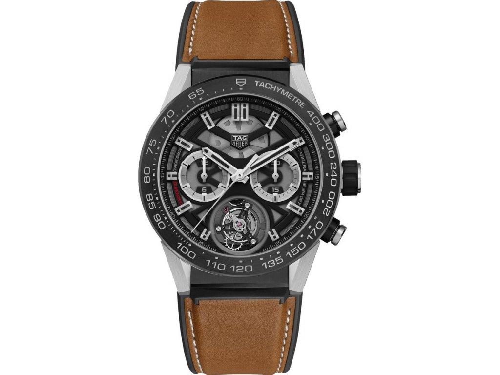 TAG Heuer Carrera HEUER02 T CAR5A8Y.FT6072  + prodloužená záruka 5 let + pojištení na rok + natahovač na hodinky ZDARMA
