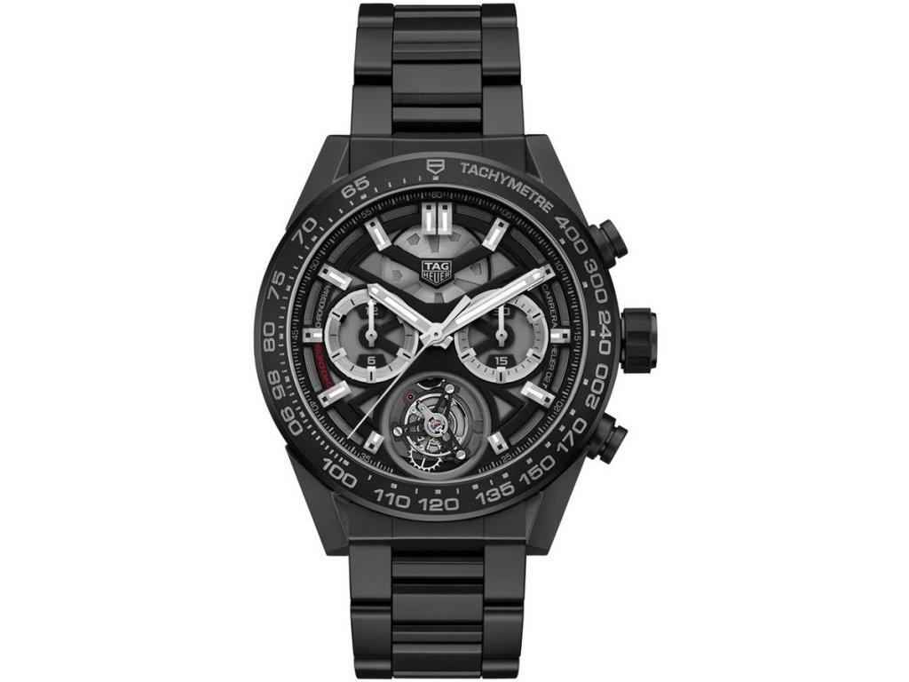 TAG Heuer Carrera HEUER02 T CAR5A90.BH0742  + prodloužená záruka 5 let+ možnost výměny do 90 dní + pojištení na rok + natahovač na hodinky ZDARMA