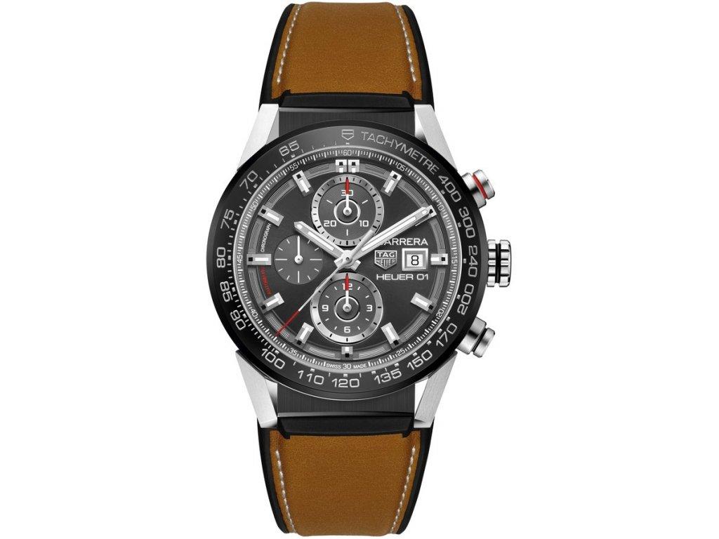 TAG Heuer Carrera CAR201W.FT6122  + natahovač na hodinky