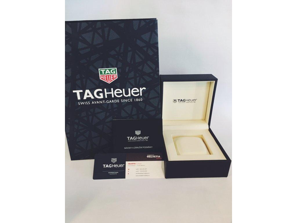 TAG Heuer Carrera CAR2A5C.FT6125 + prodloužená záruka 5 let + pojištení na  rok + natahovač na hodinky ZDARMA 169a1a51a23