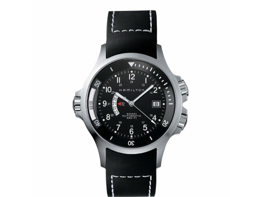 Hamilton Khaki GMT H77615333  + možnost výměny do 90 dní