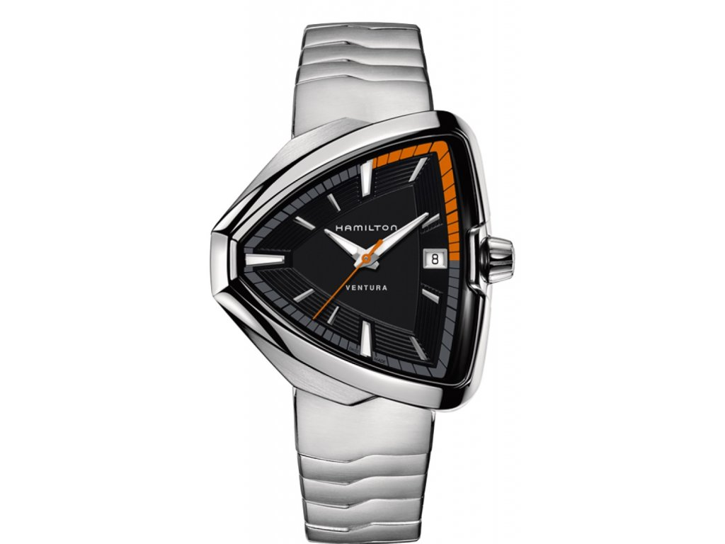 ac5b3acc141 Hamilton Ventura Elvis 80 Quartz H24551131 - HELVETIA hodinky šperky