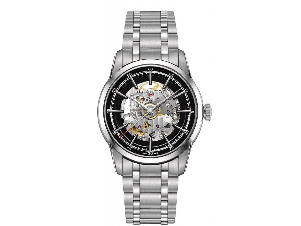 df3090076 Pánské stříbrné hodinky Hamilton - HELVETIA hodinky šperky