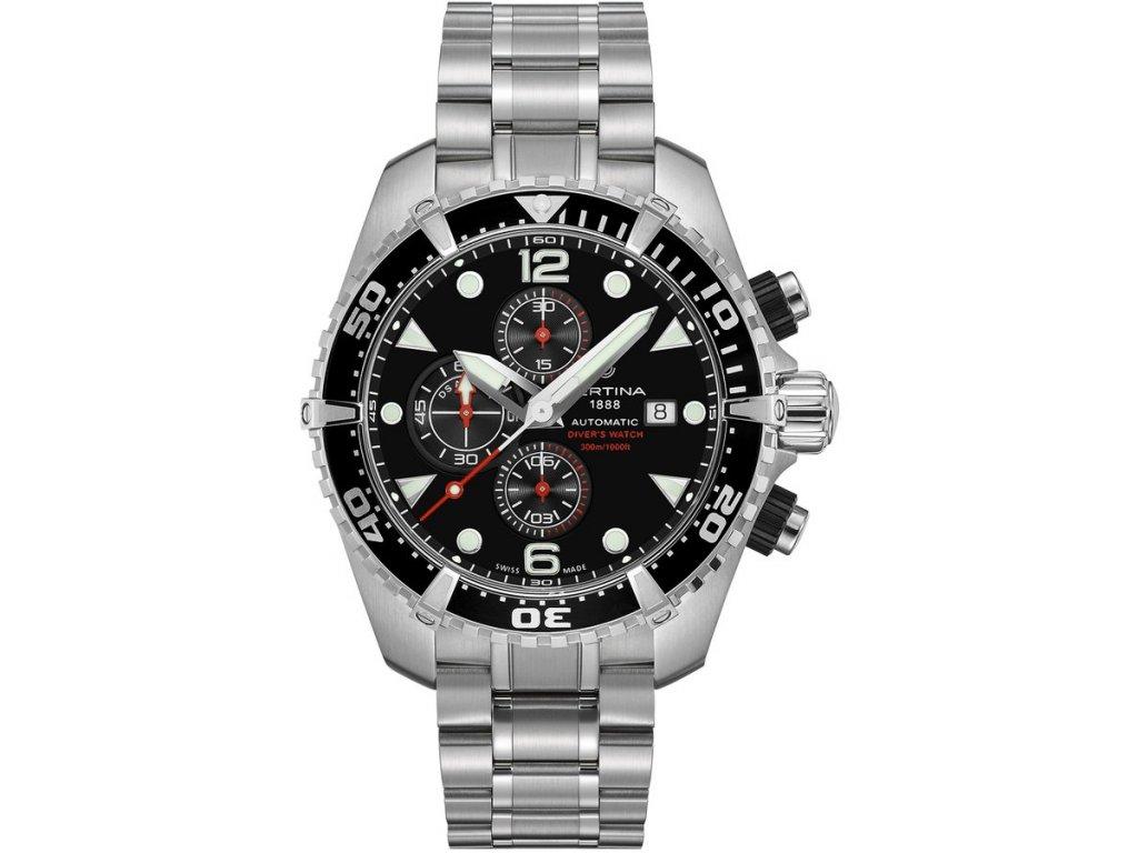 Certina DS Action Diver Chronograph Automatic C032.427.11.051.00  + prodloužená záruka 5 let + možnost výměny do 90 dní
