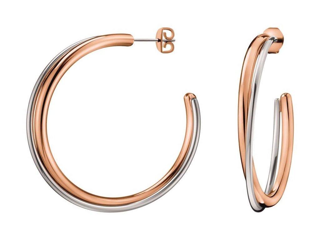 Náušnice Calvin Klein Double KJ8XPE200100  + možnost výměny do 90 dní