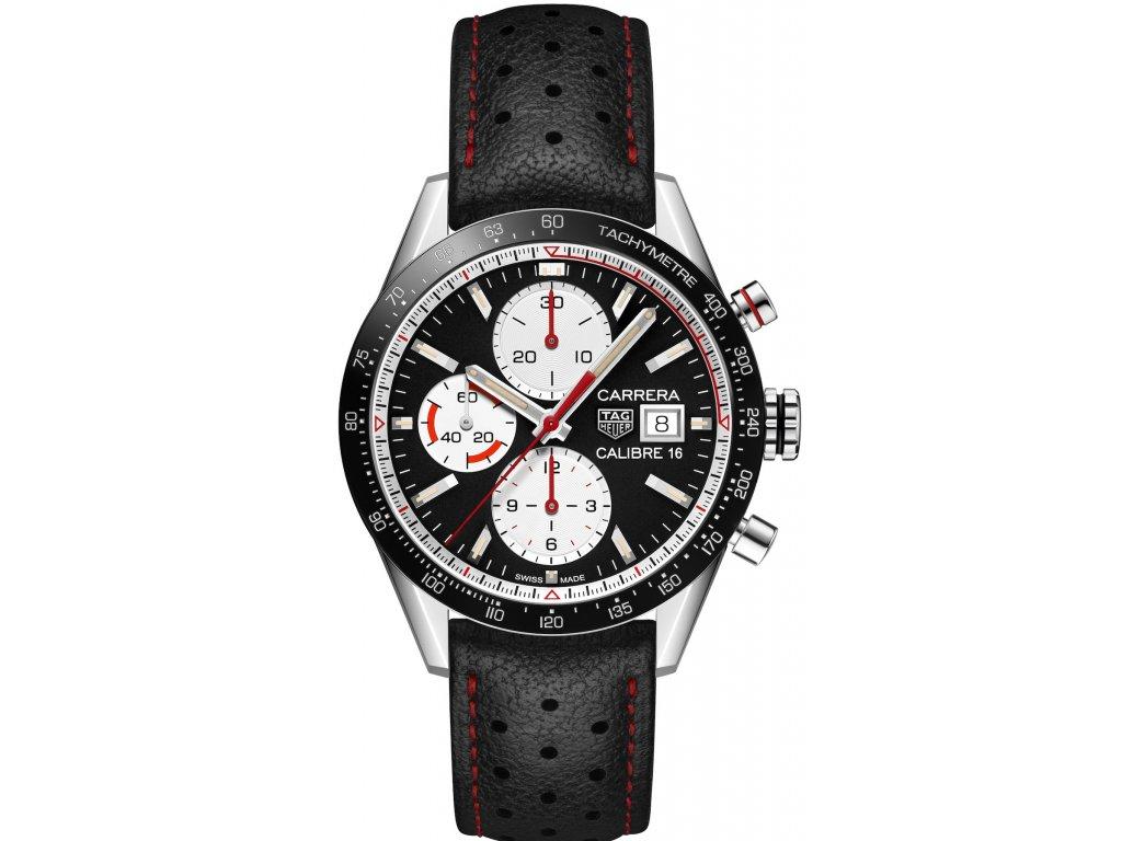 TAG Heuer Carrera CV201AP.FC6429  + prodloužená záruka 5 let + pojištení na rok + natahovač na hodinky ZDARMA