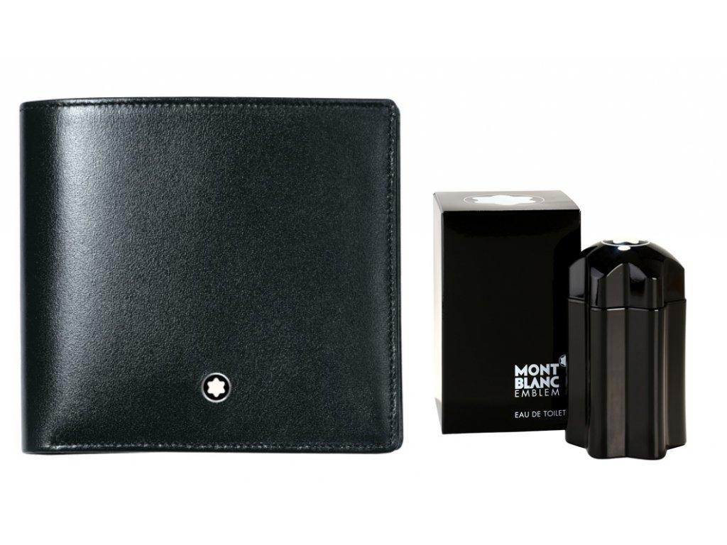 Peněženka Montblanc Meisterstuck 07164  + dárkový poukaz v hodnotě 500Kč + toaletní voda Montblanc v hodnotě 520Kč