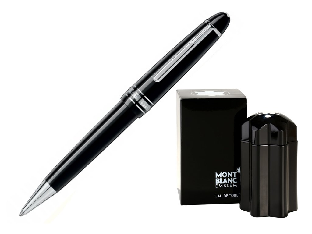 Kuličkové pero Montblanc Meisterstuck 07569-P161  + možnost výměny do 90 dní + dárkový poukaz v hodnotě 1000Kč + toaletní voda Montblanc v hodnotě 520Kč