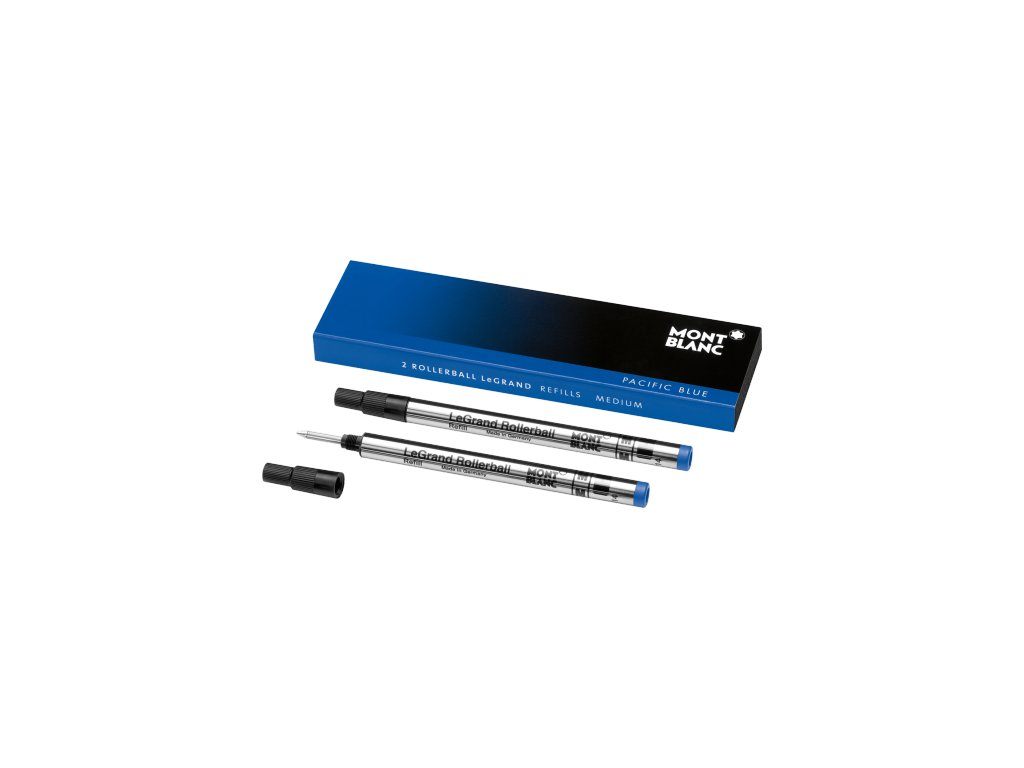 Náplň pro Roller LeGrand Montblanc 105165 M Pacific blue  + možnost výměny do 90 dní