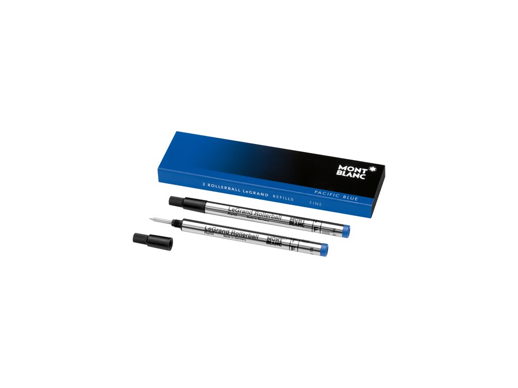 Náplň pro Rollerball Le Grand Montblanc 105167 F Pacific Blue