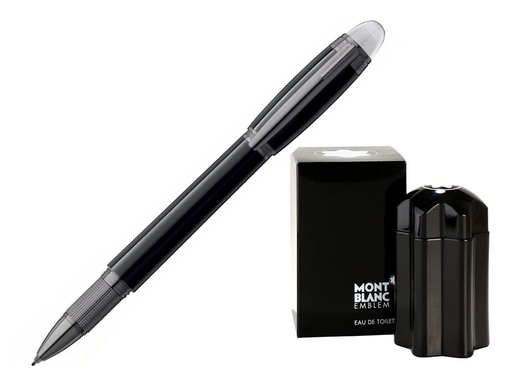 Fineliner Montblanc StarWalker Midnight Black 105656  + možnost výměny do 90 dní + dárkový poukaz v hodnotě 500Kč + toaletní voda Montblanc v hodnotě 520Kč