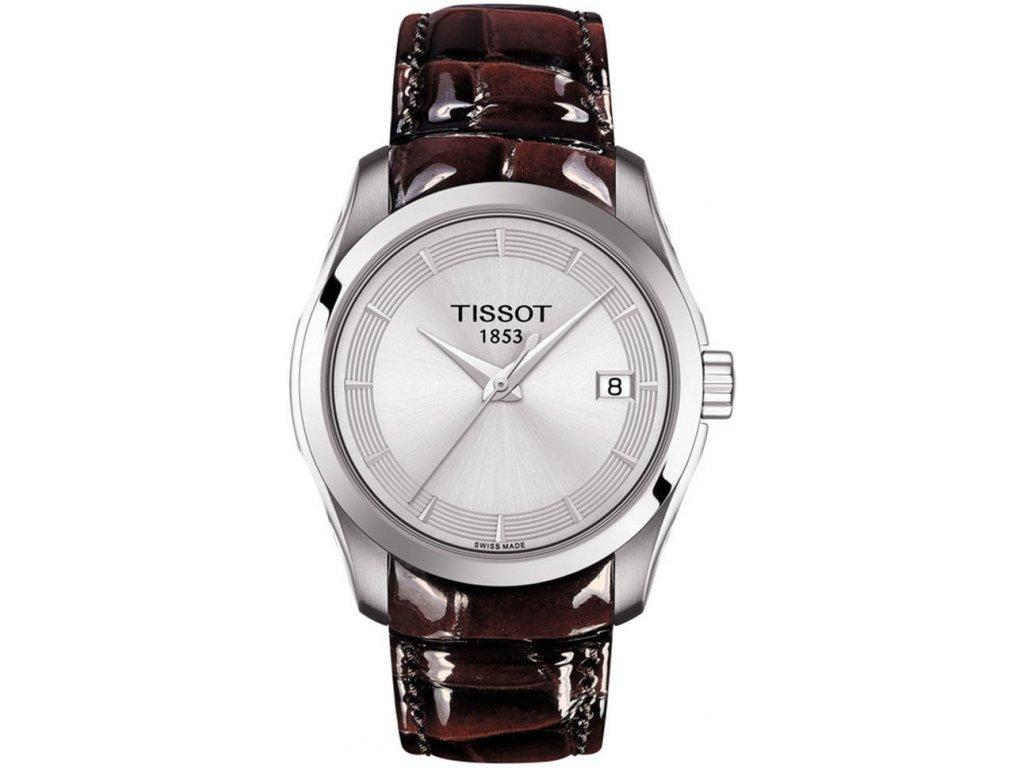 tissot couturier quartz t0352101603103 175956 186423