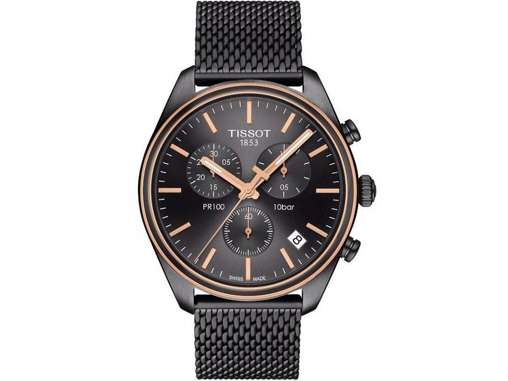 tissot pr 100 chronograph t1014172306100 166006 182717