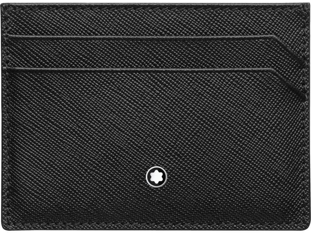 Pouzdro na kreditní karty Montblanc Sartorial Black 114603