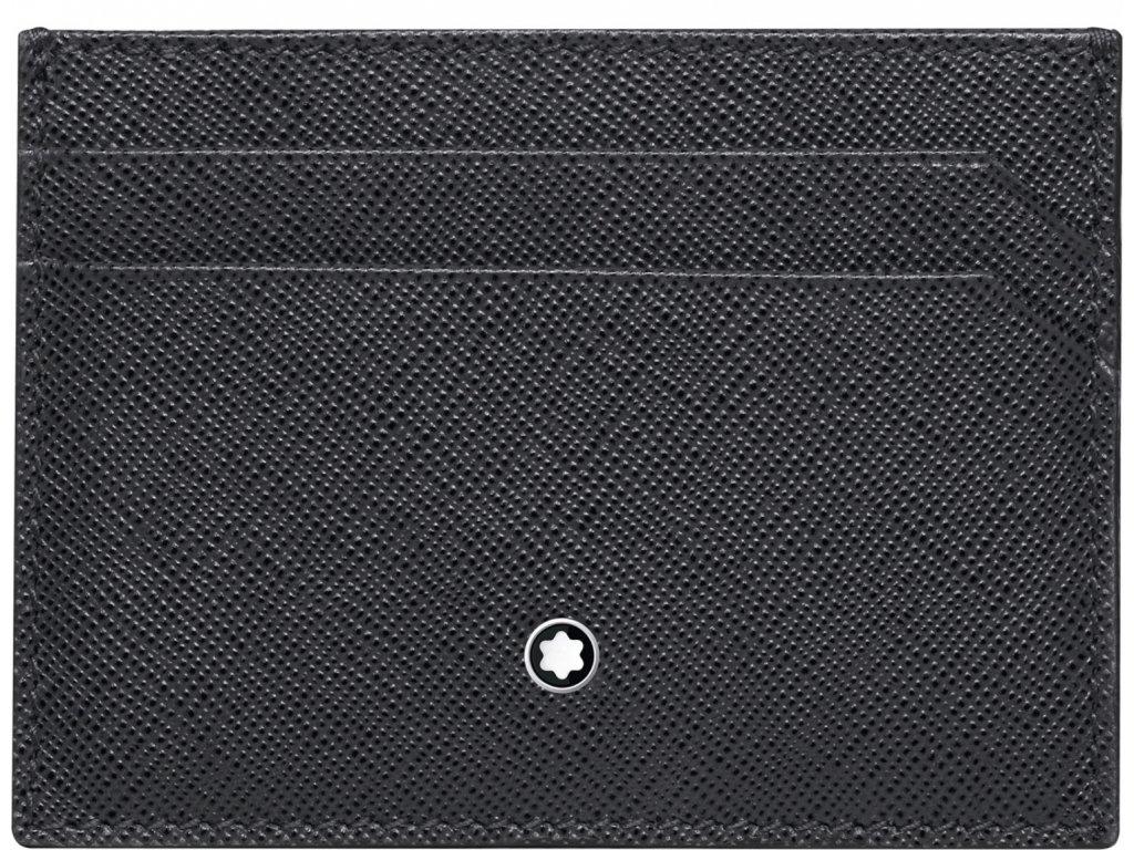 Pouzdro na kreditní karty Montblanc Sartorial Dark Grey 116337