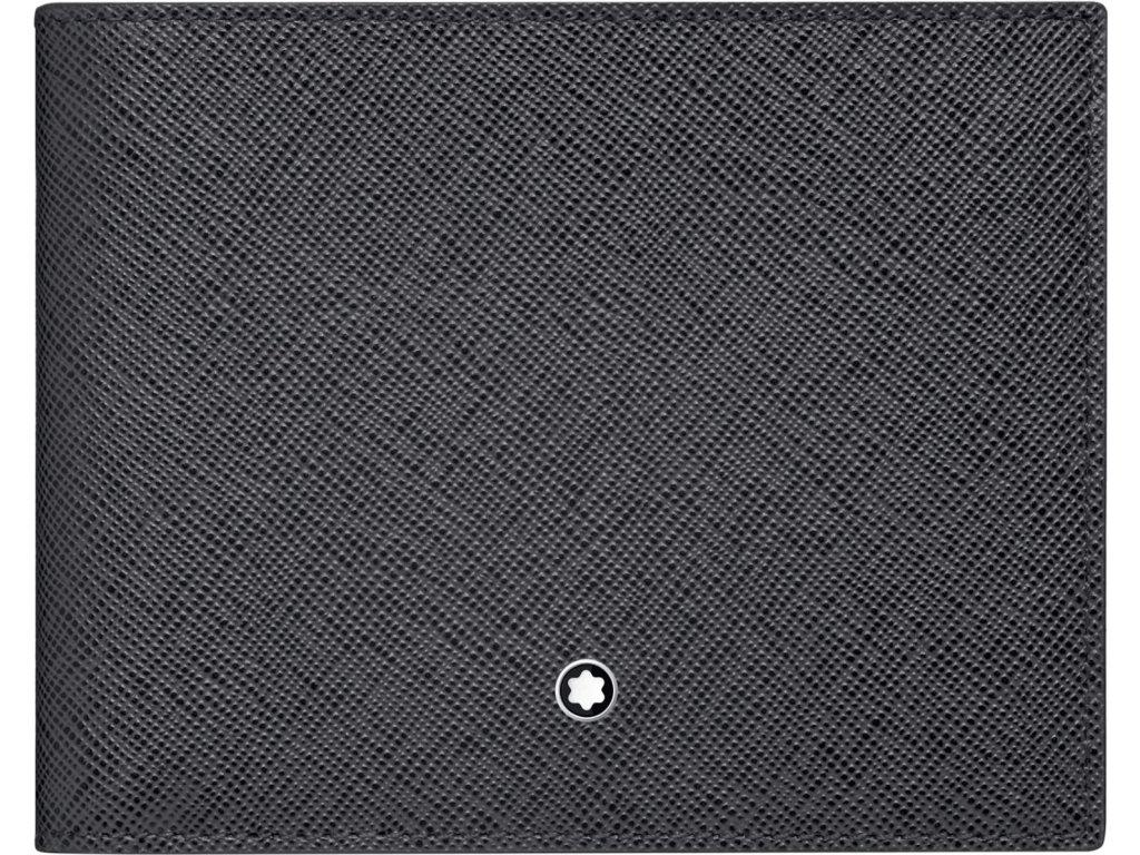 Peněženka Montblanc Sartorial Dark Grey 116325