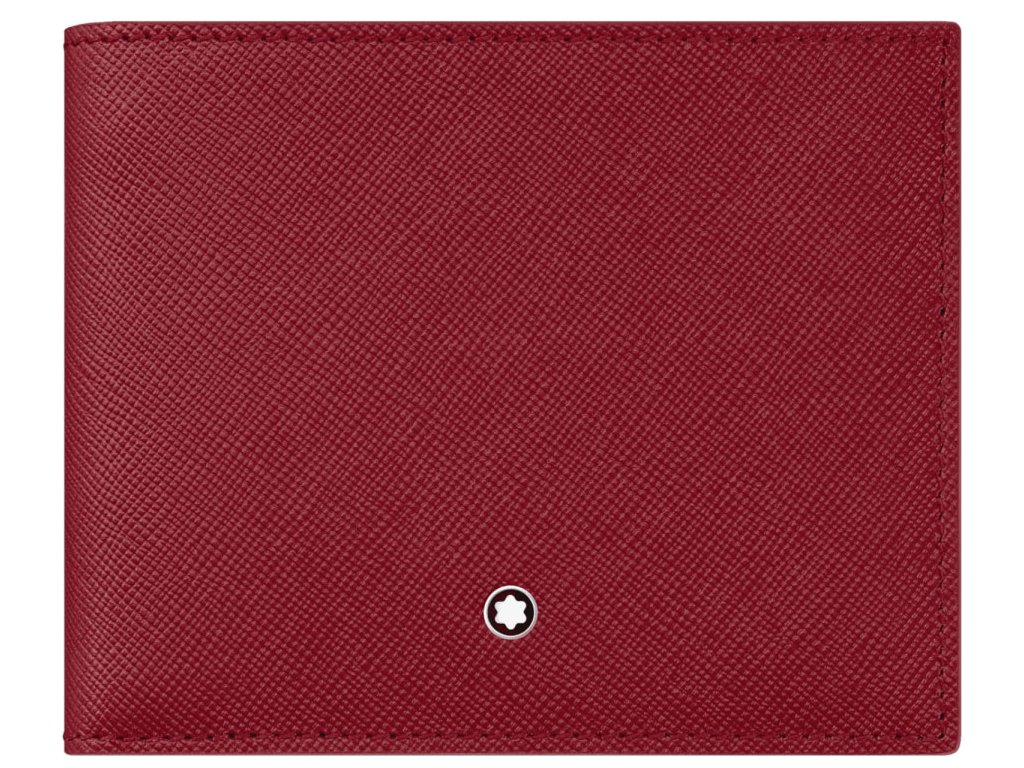 Peněženka Montblanc Sartorial Red 115846  + dárkový poukaz v hodnotě 500Kč