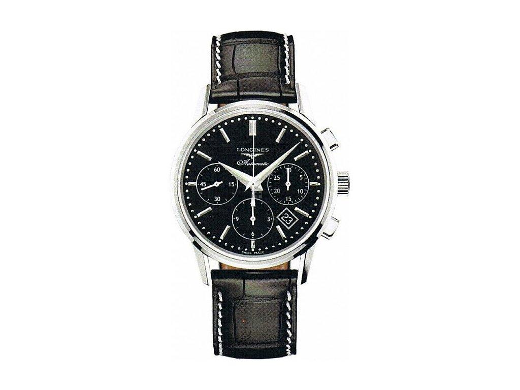 Longines Column-Wheel chronograph L2.749.4.52.0  + prodloužená záruka 5 let + pojištení na rok + natahovač na hodinky ZDARMA
