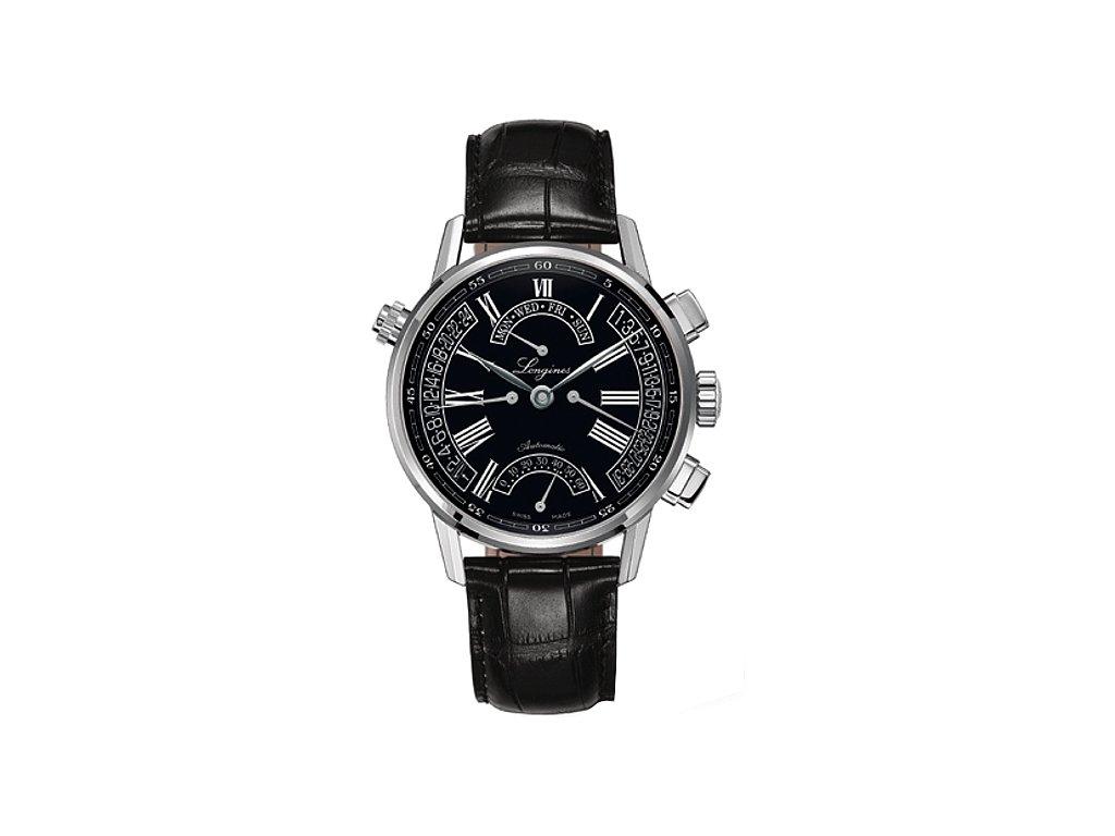 Longines Heritage Retrograde L4.797.4.51.2  + natahovač na hodinky