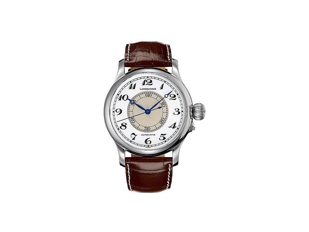 Longines Weems second-setting watch L2.713.4.13.0  + záruka 5 let + možnost výměny do 90 dní + natahovač na hodinky
