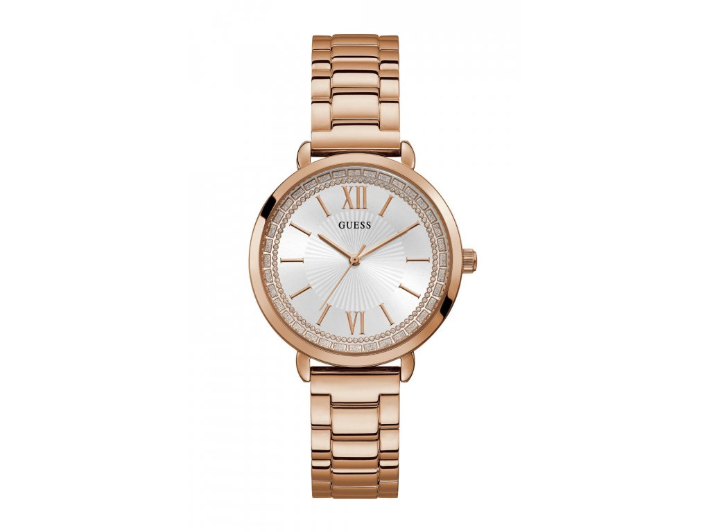 GUESS W1231L3 Γυναικείο Ρολόι Quartz Ακριβείας