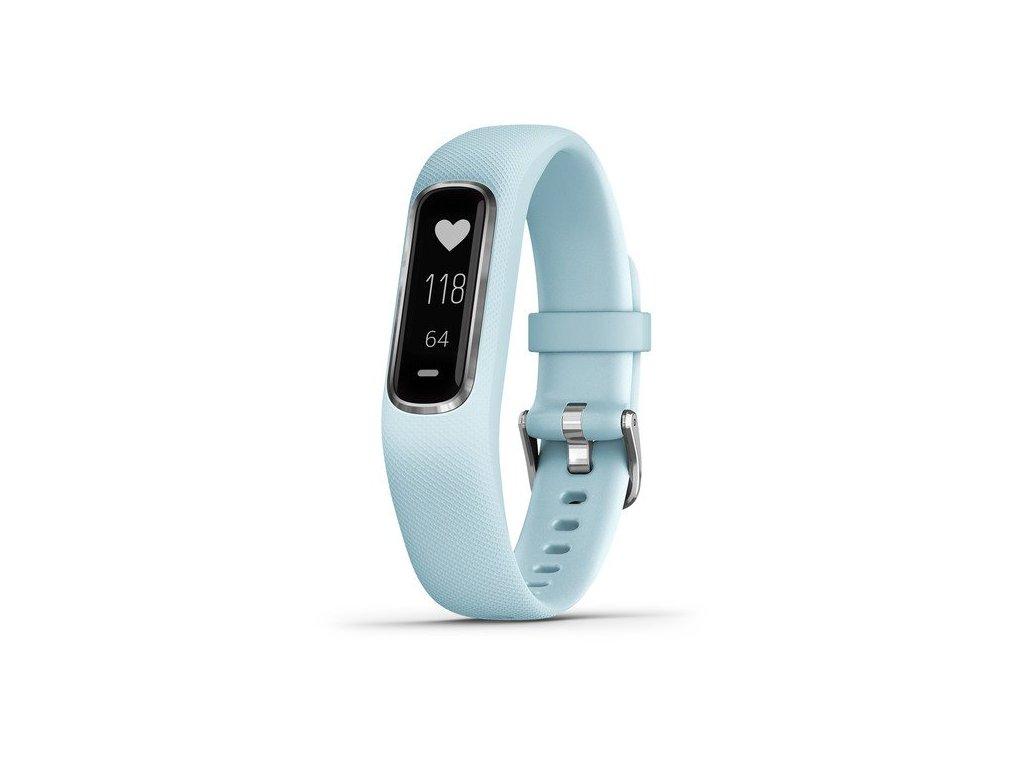 Garmin VivoSmart4  Optic Blue/Silver (velikost S/M)