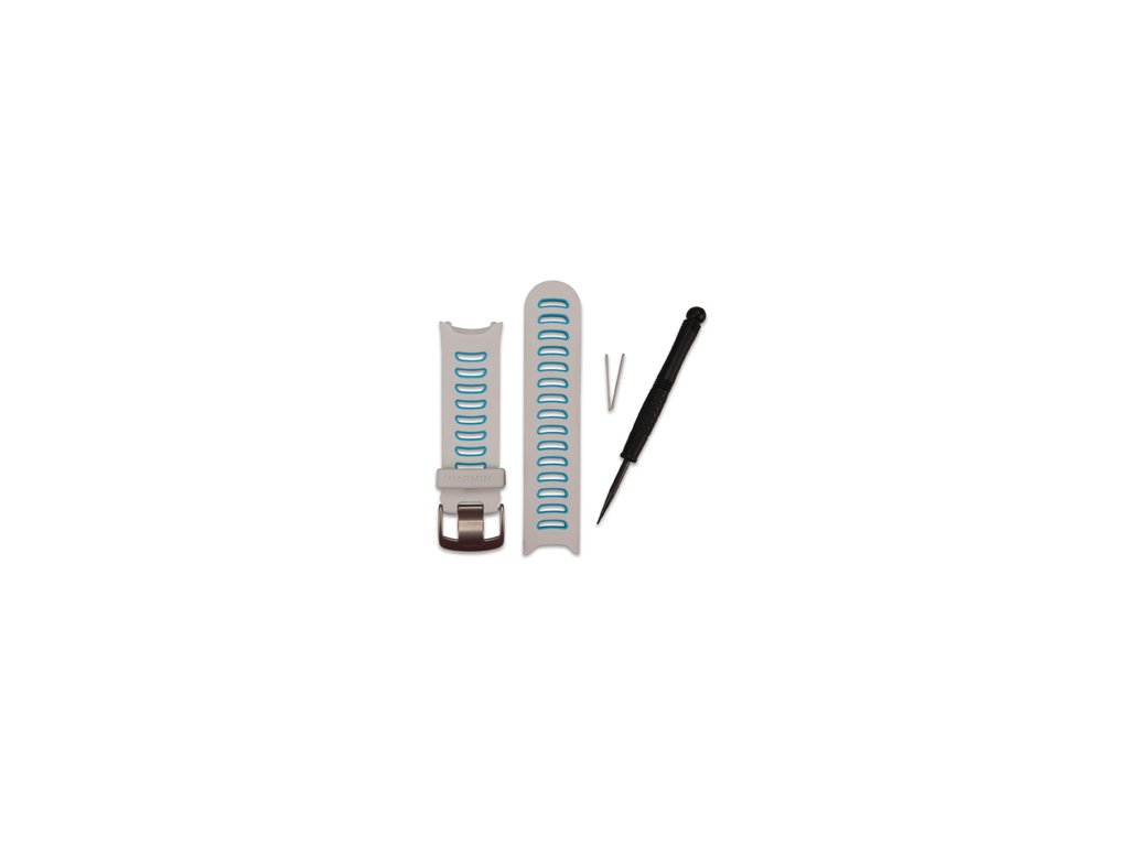 Garmin řemínek pro Forerunner 610, White/Blue