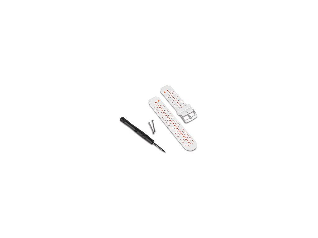 Garmin řemínek pro Forerunner 620 (Forerunner 220, Approach S5/S6) bílo/oranžový