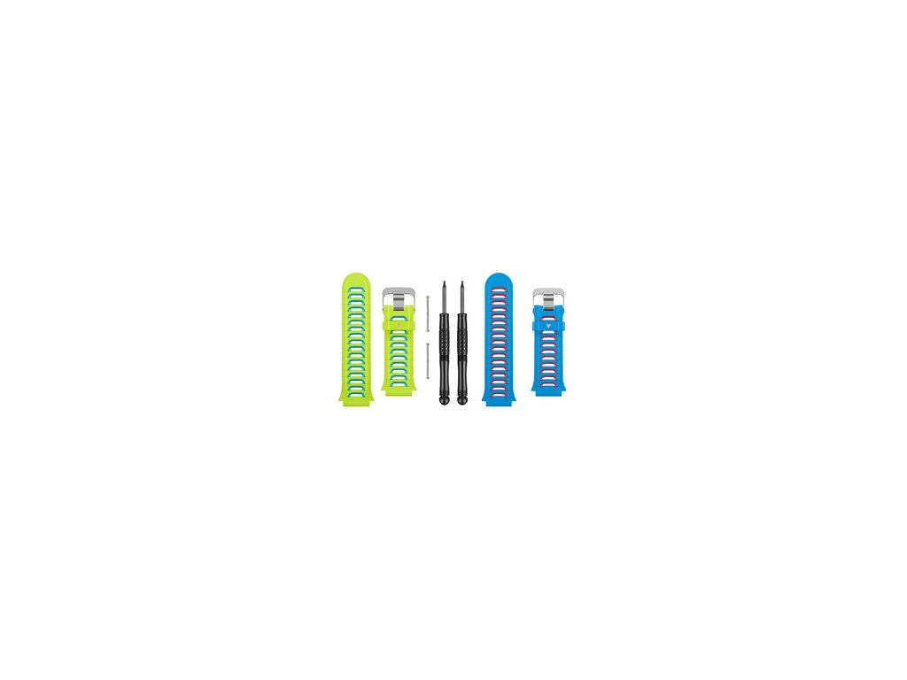 Garmin řemínky pro Forerunner 920 XT, zelený a modrý