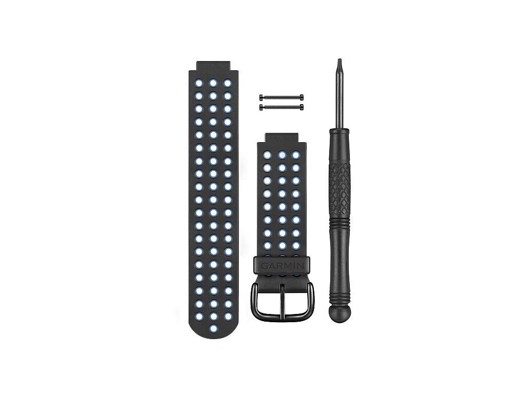 Garmin řemínek pro Approach S5/S6 (Forerunner 220/620), černo/modrý