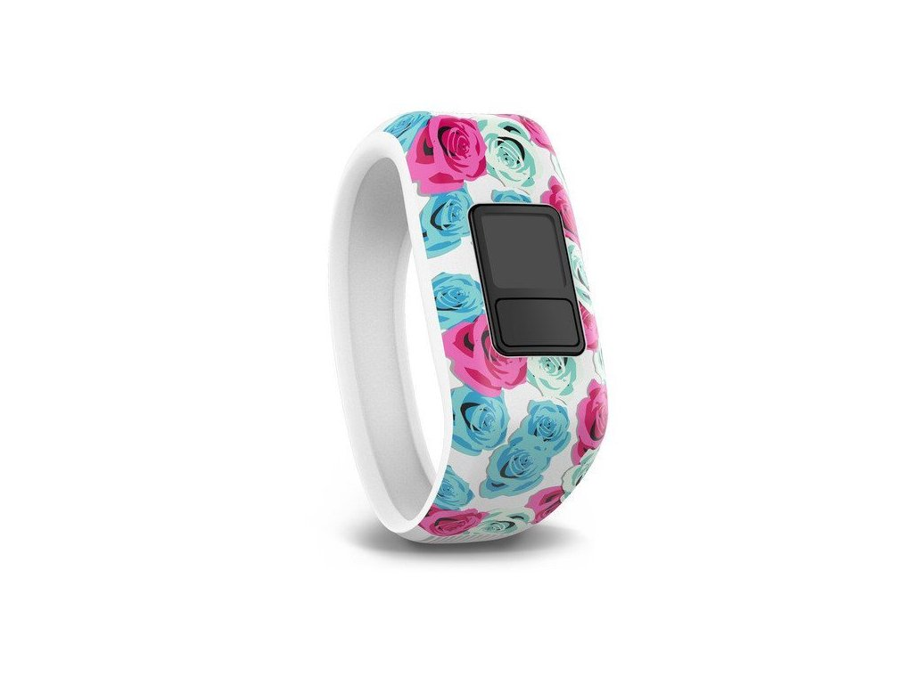 Garmin řemínek pro vivofit junior, Real Flower, XL