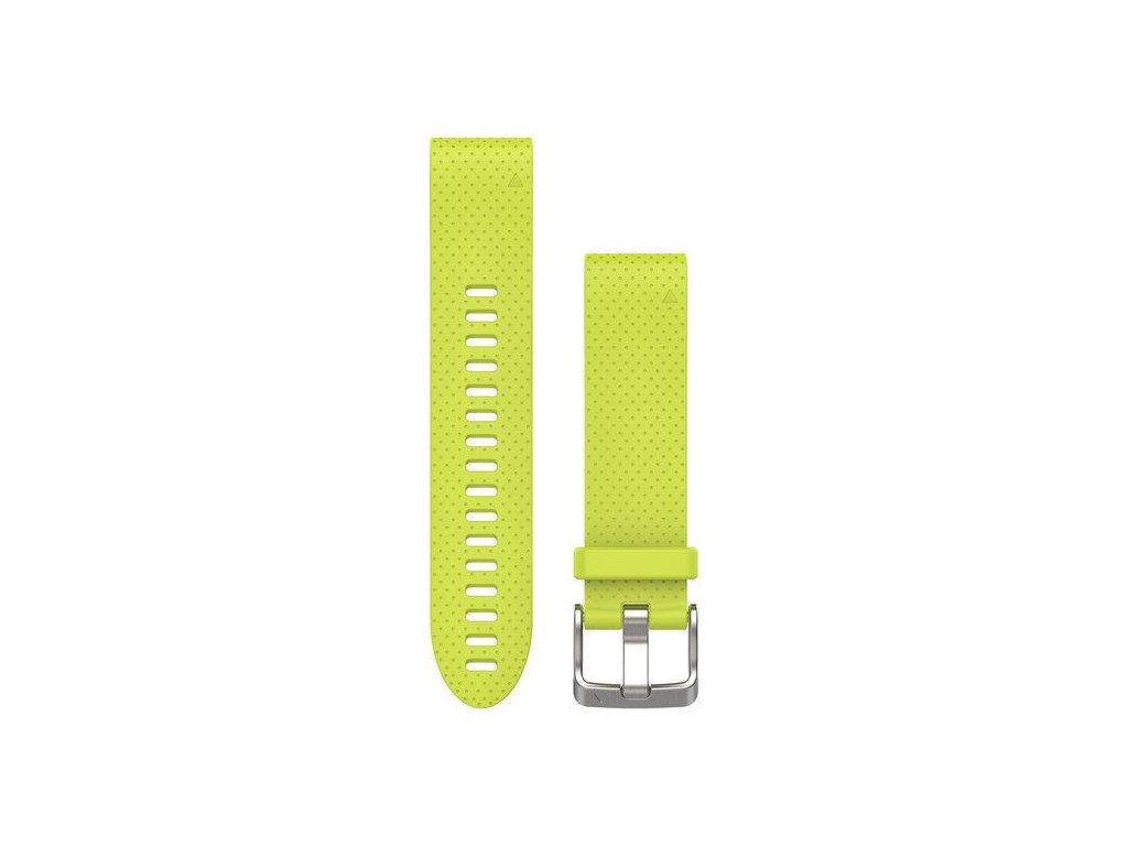Garmin řemínek pro fenix5S - QuickFit 20, žlutý