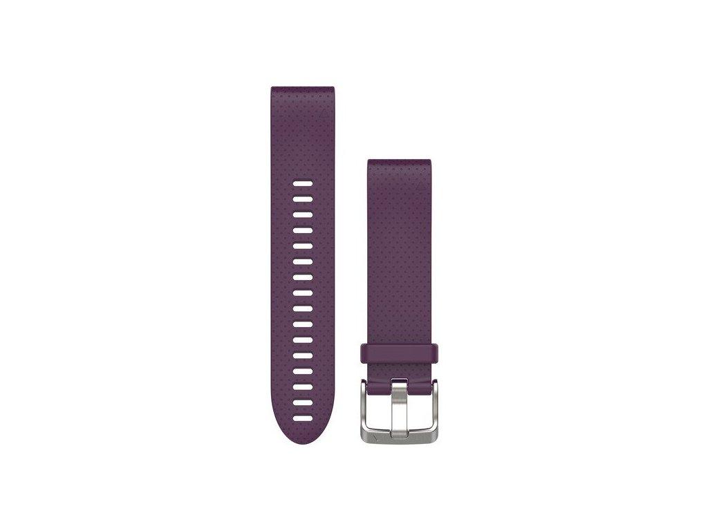 Garmin řemínek pro fenix5S - QuickFit 20, fialový