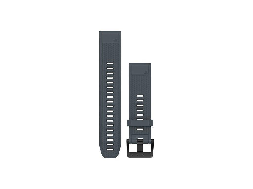 Garmin řemínek pro fenix5/Quatix5/Forerunner 935 - QuickFit 22, modrošedý