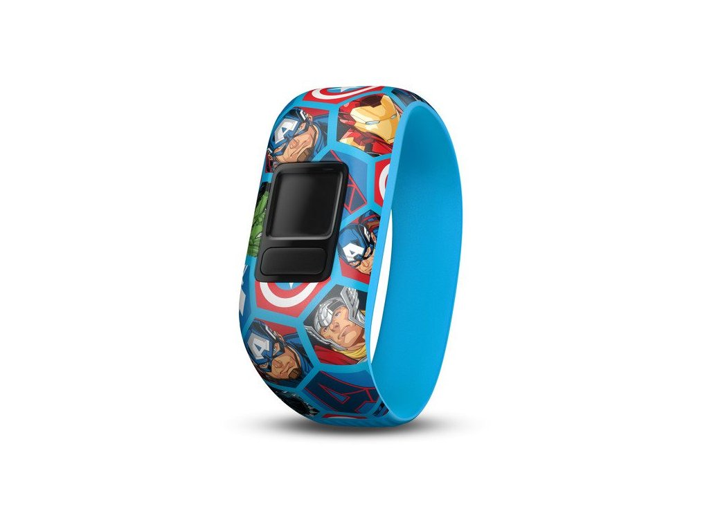 Garmin řemínek pro vivofit junior2, Avengers (Stretch)