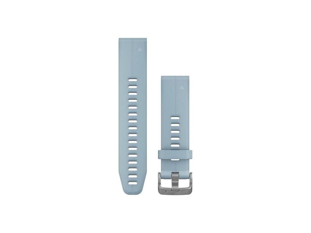 Garmin řemínek pro fenix5S Plus - QuickFit 20, světle šedivá
