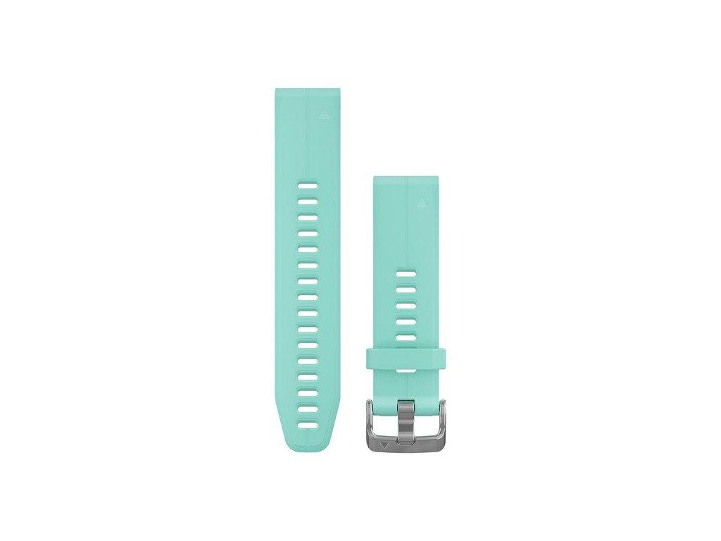 Garmin řemínek pro fenix5S Plus - QuickFit 20, ledově modrá