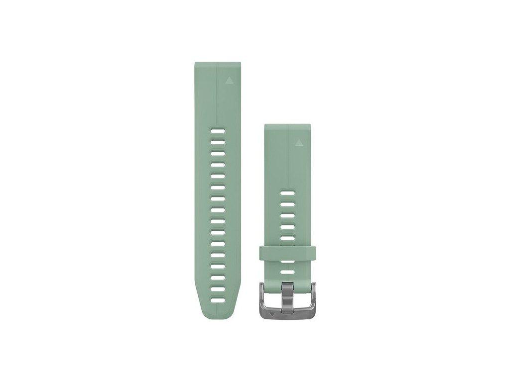 Garmin řemínek pro fenix5S Plus - QuickFit 20, šedý