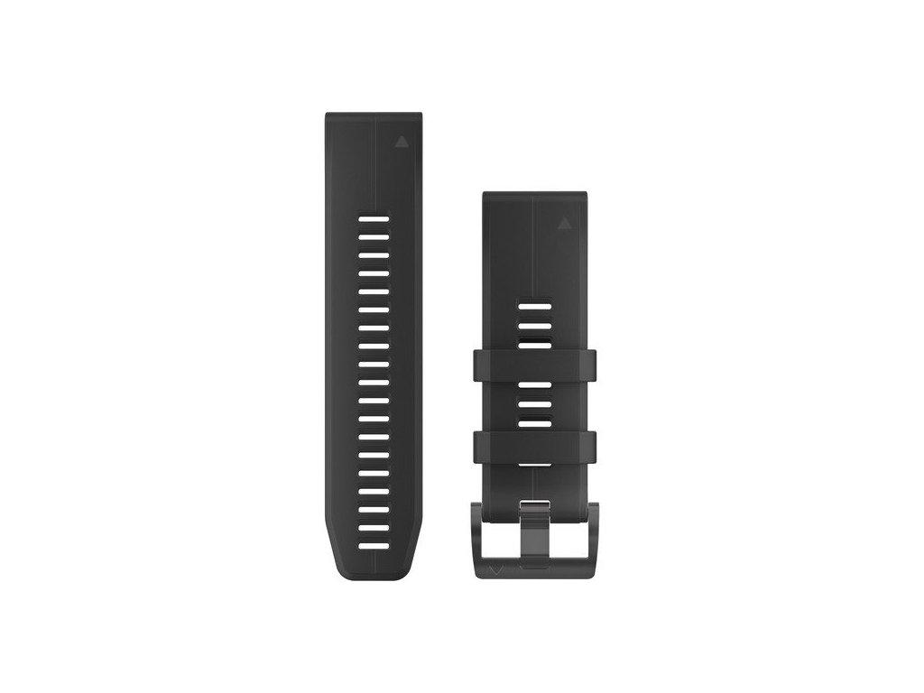 Garmin řemínek pro fenix5X Plus - QuickFit 26, černý