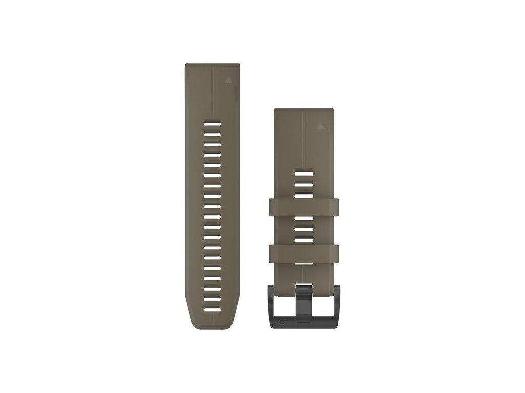Garmin řemínek pro fenix5X Plus - QuickFit 26, khaki