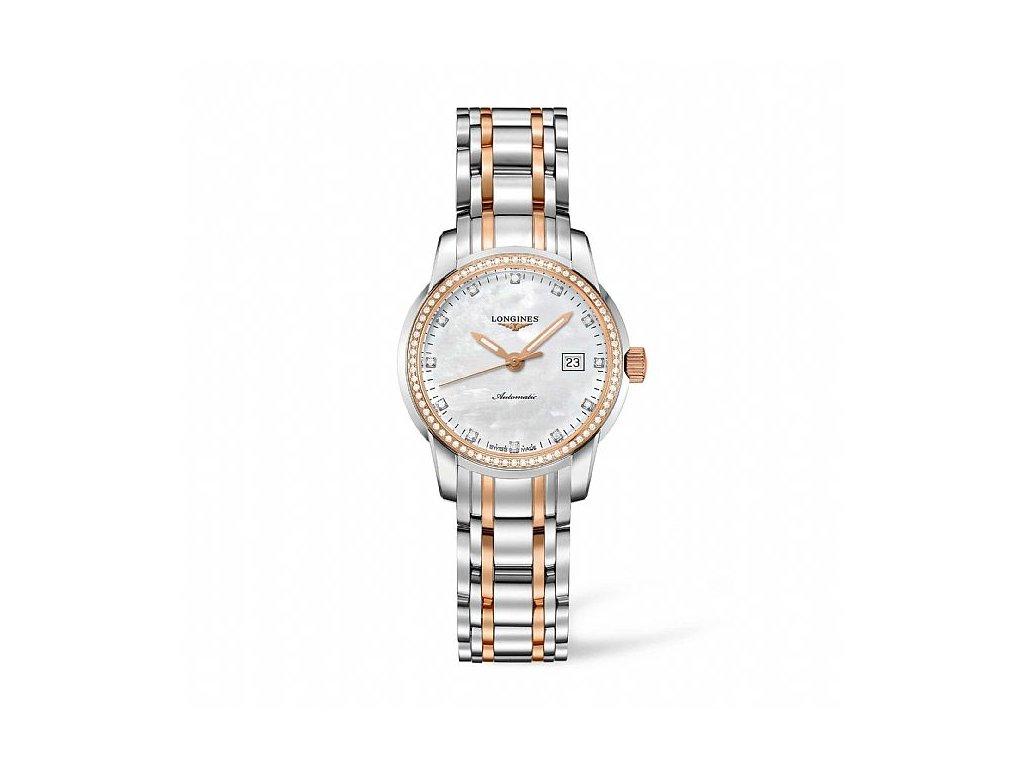 Longines Saint-Imier Collection L2.563.5.87.7  + možnost výměny do 90 dní + natahovač na hodinky