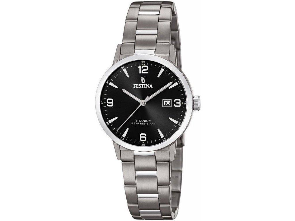 festina titanium date 20436 3 181072 197034