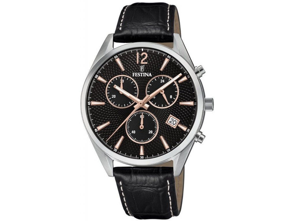 festina timeless chronograph 6860 7 182426 200918